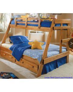 #215 -- Wood T/F Bunk Bed - 32336
