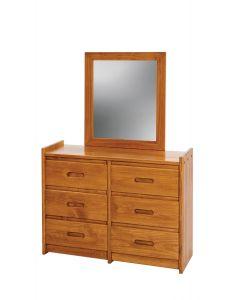 #208 - Dresser with Mirror - 31096
